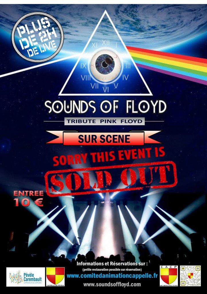 affiche sounds of floyd concert complet